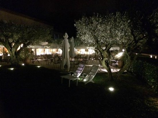 La Bastide du Calalou : La terrasse