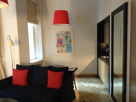 Neiburgs Hotel: Studio room