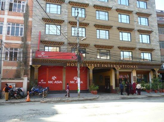 Hotel Tibet International: Front view
