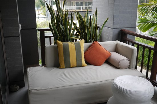 Rest Detail Hotel Hua Hin: 陽台