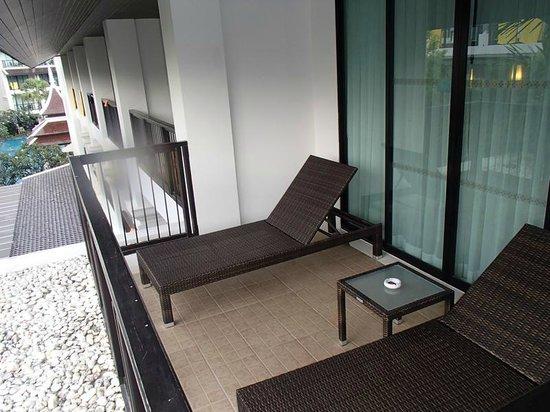 Centara Anda Dhevi Resort and Spa : 1306 1307 だけベランダが広かったです。