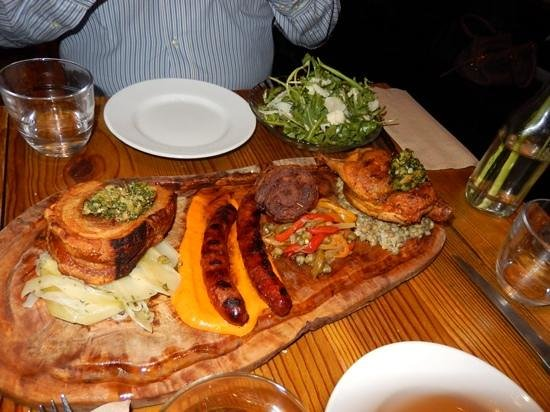 Plateau: mixed meat platter