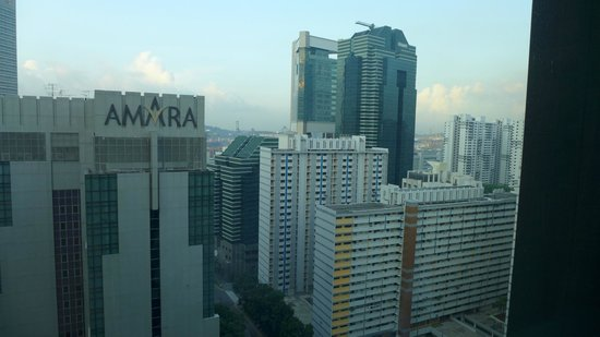 Carlton Hotel Singapore: view from the room