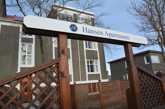 Hansen Apartments: Outside the apartment