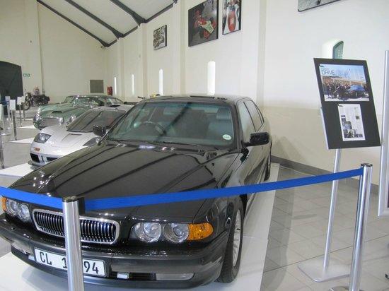 The Franschhoek Motor Museum: Nelson Mandella's transport...