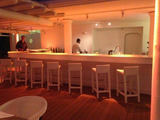LUX* Belle Mare : bar de la plage