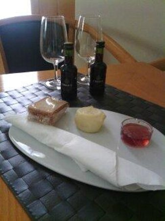 Lamego Hotel & Life: Detalle bienvenida