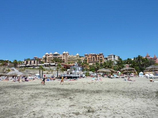 IBEROSTAR Grand Hotel El Mirador : The hotel from the beach