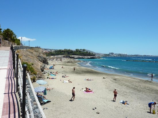 IBEROSTAR Grand Hotel El Mirador: Beach right below hotel, great for families can be quite busy