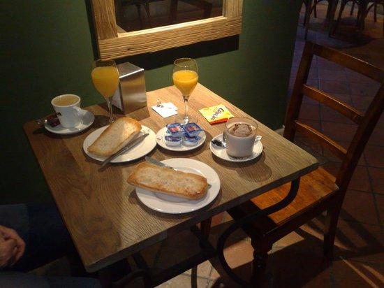 Hotel Palacio de Mengibar: Unser tolles Frühstück