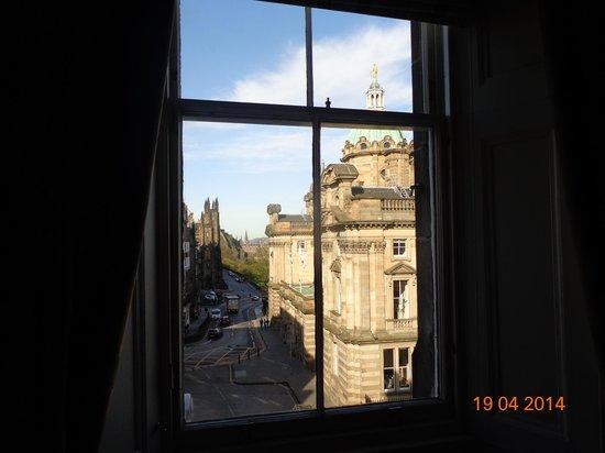 Fraser Suites Edinburgh: Vista da suíte