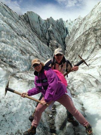 Fox Glacier Guiding: Actie foto