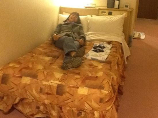 Kyoto Tower Hotel: this is supposed to be a Double Bed?