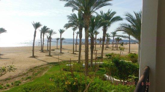 Siva Port Ghalib : widok z pokoju