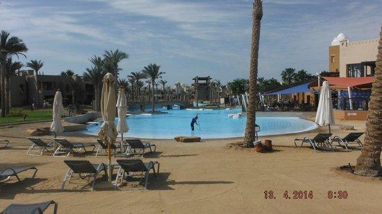 Siva Port Ghalib : basen