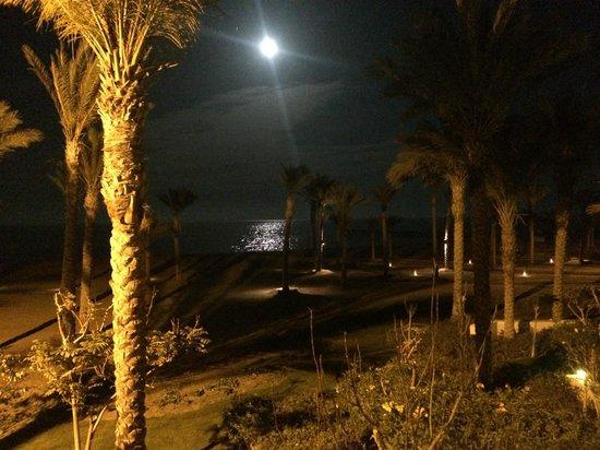 Siva Port Ghalib : wieczorem