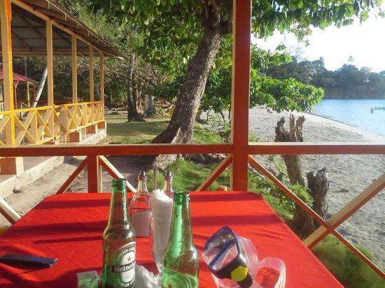 Hotel Restaurante Miss Elma : Terrasse