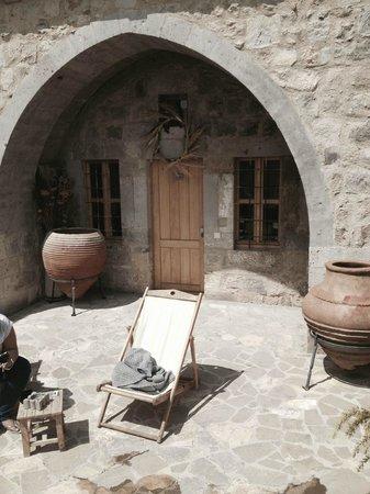Argos in Cappadocia: Our suite's entrance