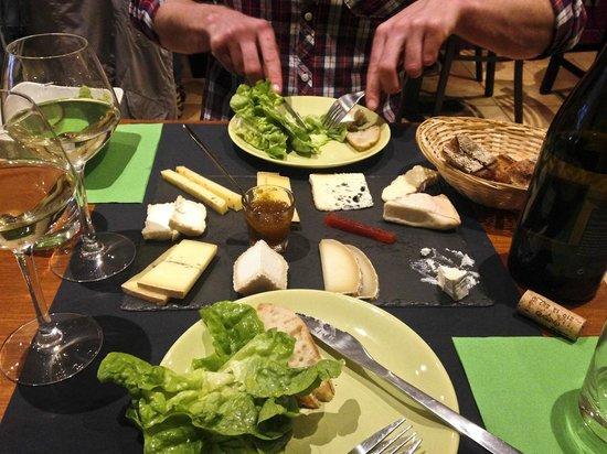 L'Affineur' Affiné : 10 cheese platter