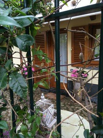 Villa La Contessina: OUTSIDE BEDROOM