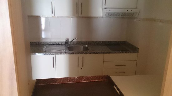 Albufeira Sol Suite Hotel & Spa: Kitchen - NOTHING PROVIDED. (ALL INC)