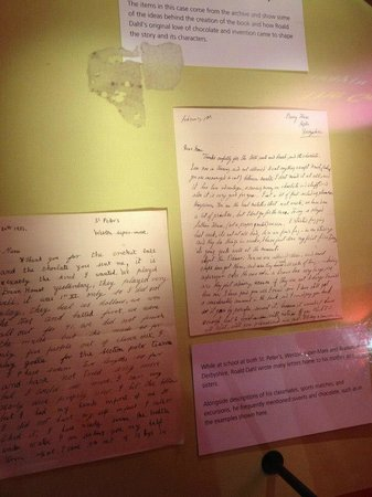 The Roald Dahl Museum and Story Centre: Roald's original letters
