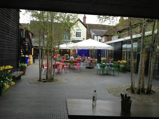 The Roald Dahl Museum and Story Centre: the cafe