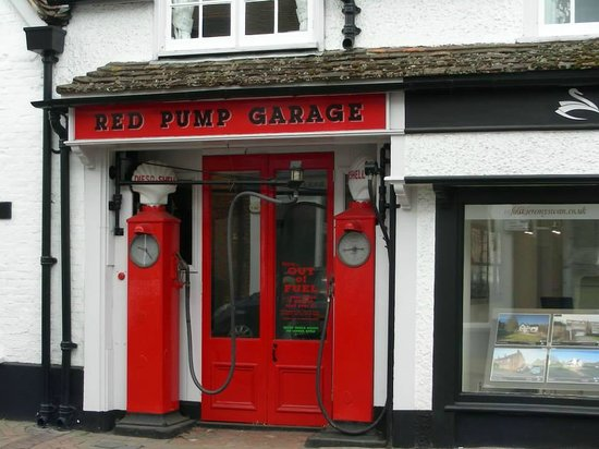 The Roald Dahl Museum and Story Centre: the pump as in the book 'Danny the Champion of the World'