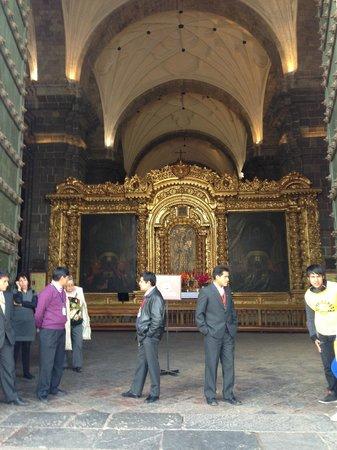 Catedral del Cuzco o Catedral Basílica de la Virgen de la Asunción: Entrada