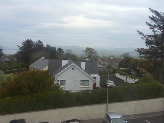 Ballyliffin Hotel: view from room