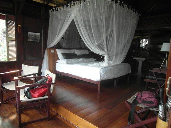 Luang Say Lodge : Gemütliches Schlafzimmer
