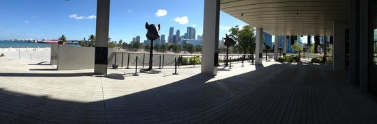 Perez Art Museum Miami: View of the new Museum Park at Bayfront, Miami Fl