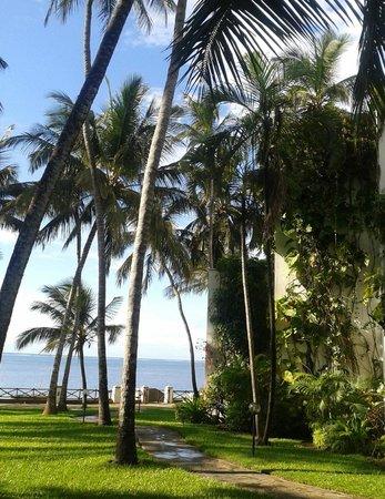 The Plaza Beach Hotel : Sea view