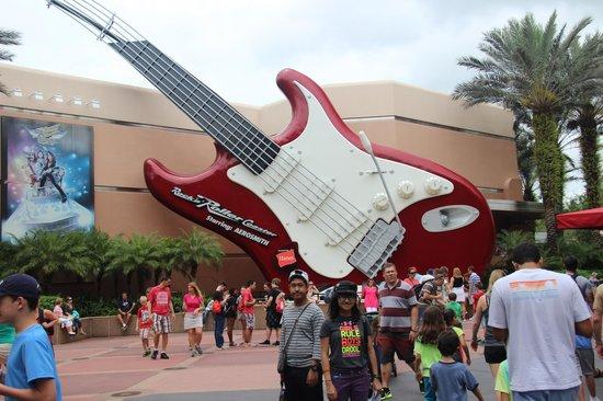 Disney's Hollywood Studios: rockin'rollin coastin