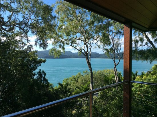 Qualia Resort: Balcony view