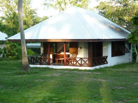 Bird Island, Seszele: le bungalow
