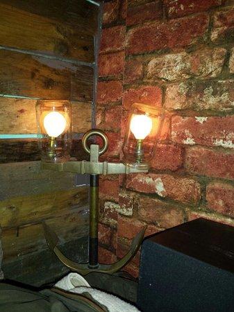 The mess-canteen+Bar: Lights