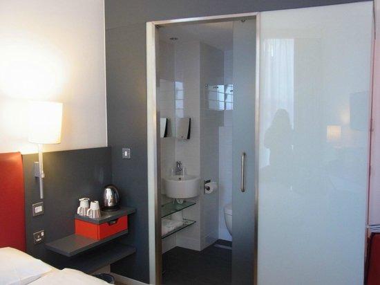 Sleeperz Hotel Newcastle: コンパクトにまとめられている