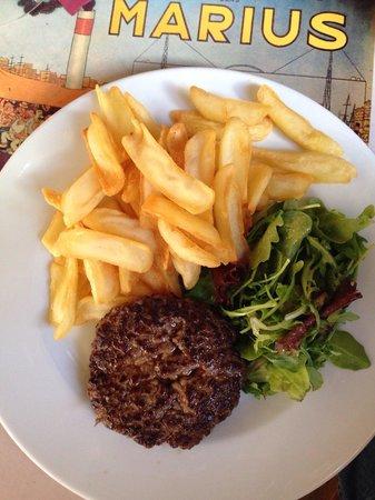 Restaurant le Marius : Simple et bon.