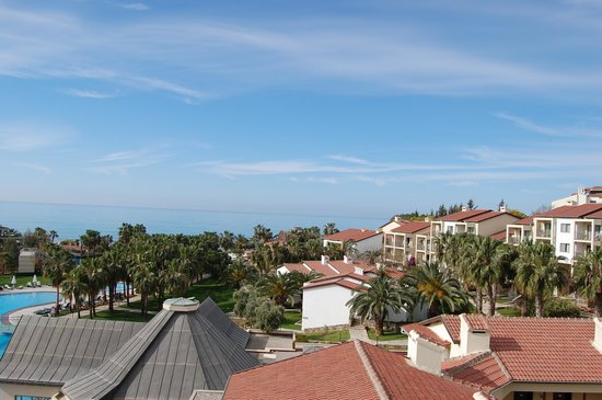 Barut Arum: View over the spa and other rooms