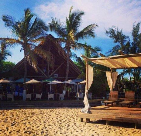 Roca das Mangueiras: Bar da praia
