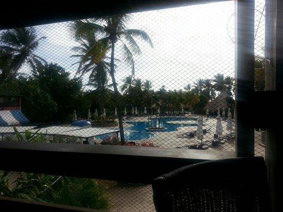 Hesperia Playa El Agua : View of eden club pool