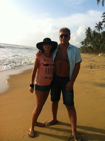Vendol Resort - Wadduwa: Hotel beach area