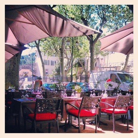 La Table des Coquelicots : Terrase