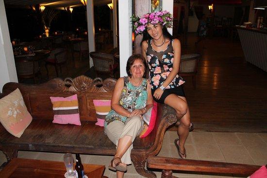 Raiatea Lodge Hotel : complicité avec la dream team