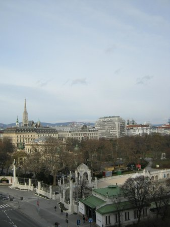 InterContinental Wien: View from the Room