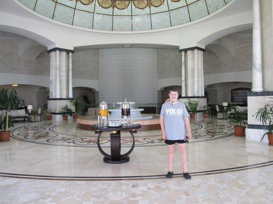 Melas Lara Hotel : reception/lobby
