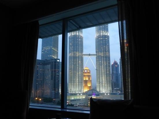 Traders Hotel, Kuala Lumpur : vue depuis la chambre