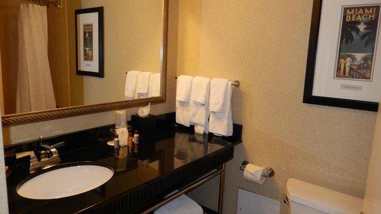 Sheraton Miami Airport Hotel & Executive Meeting Center : Bagno