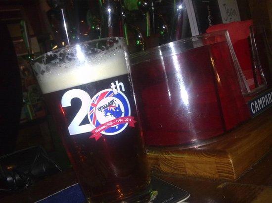 Wallaby Australian Pub: buonissima!